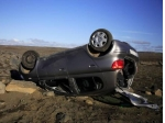 Převrácení auta: nejvyšší míra úmrtnosti