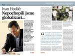 Ivan Hodáč: Nepochopili jsme globalizaci...