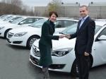 Opel dodá GSK celkem sedmdesát pět insignií