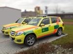 První zdravotnické Mercedesy GLK pro ZZS MSK
