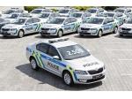 Policie převzala 85 nových octavií