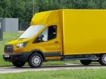 Deutsche Post spolupracuje s Fordem na nové elektrické dodávce