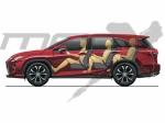 Lexus potvrdil sedmimístný model RX