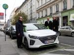 Ve Vídni mají první sdílené vozy Ioniq Hybrid