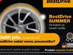 Servisy BestDrive nabídnou vlastní pneumatiky