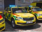 Středočeská záchranka má šest nových aut včetně tří Crafterů pro mimořádné události
