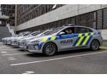 Hyundaie Ioniq Electric pro policisty