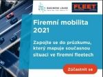 Zúčastněte se průzkumu Firemní mobilita 2021, získáte data, speciál a můžete i soutěžit