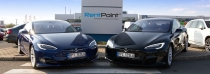 RentPoint začíná se zápůjčkami vozů Tesla S