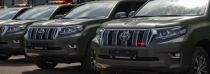 Toyota dodá policistům 50 nových Land Cruiserů