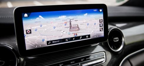 Mercedes-Benz nabízí systém MBUX nově i ve třídě V